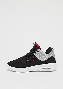 Jordan First Class (BG) black/gym red-white-matte silver