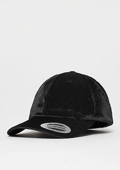 Flexfit Corduroy Satin Dad Cap black