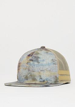 Flexfit Used Camo Trucker khaki/beige mesh