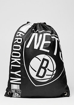 Forever Collectibles Turnbeutel Cropped Logo NBA Brooklyn Nets black