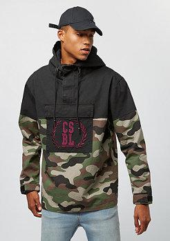 Cayler & Sons CSBL Anorak Jacket Justice N Glory black/woodland camo