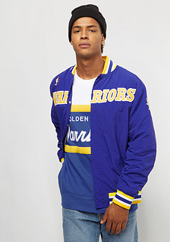 Mitchell & Ness Authentic Warm Up Golden State Warriors royal