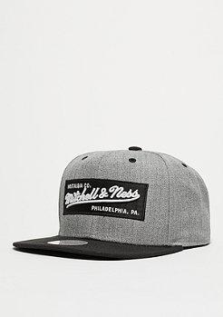 Mitchell & Ness Box Logo heather grey/black