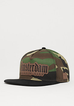 Cayler & Sons C&S WL Amsterdam Lux Cap woodland/black