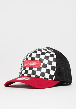 Mitchell & Ness NBA M&N Checkered Trucker 110 white/red