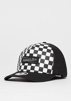 Mitchell & Ness NBA M&N Checkered Trucker 110 white/black