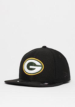 New Era 9Fifty NFL Green Bay Packers DryEra Tech black/otc