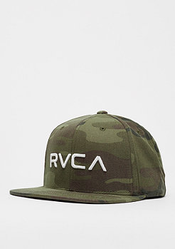 RVCA RV Twill olive camo