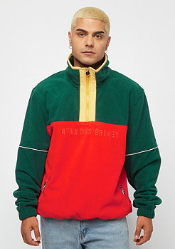Grimey GTO Heritage Jumper Polar Fleece green