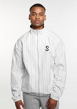 SNIPES Pinstripe Cotton white/black