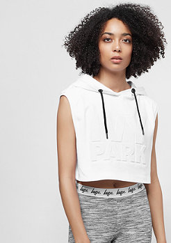 IVY PARK Crop Embossed Logo white