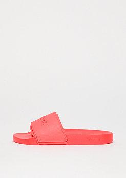 IVY PARK Embossed Logo Sock Slider neon red