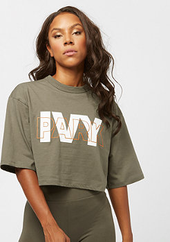 IVY PARK Layer Crop Logo SS crocodile