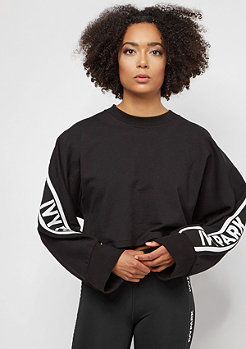 IVY PARK Logo Tape Crop Crew black