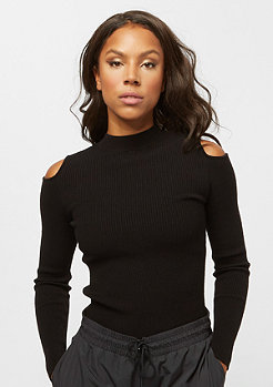 IVY PARK Lounge Rib Cold Shoulder black