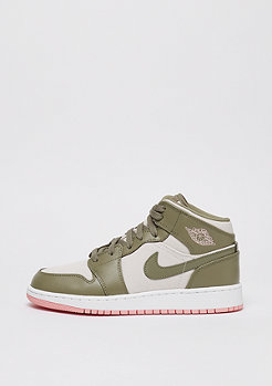 JORDAN Air Jordan 1 Mid (GG) trooper/bleached coral-light orewood brn