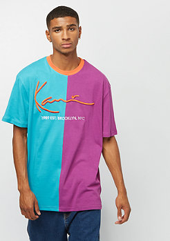 Karl Kani Block Signature blue purple orange