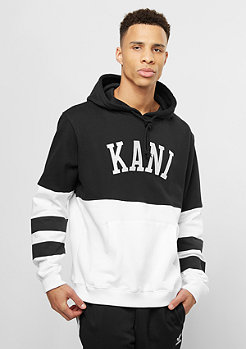 Karl Kani Hooded-Sweatshirt College black/white
