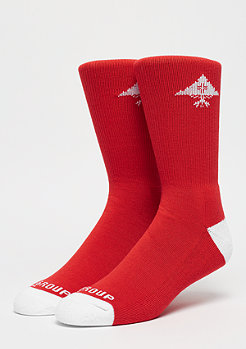 LRG Crew Sock red
