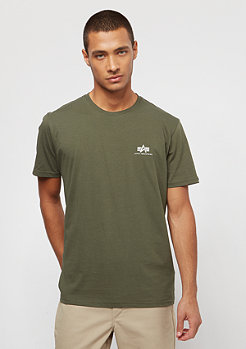 Alpha Industries Basic Small Logo dark olive camo