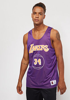 Mitchell & Ness NBA LA Lakers Shaqueille O'Neal purple/yellow