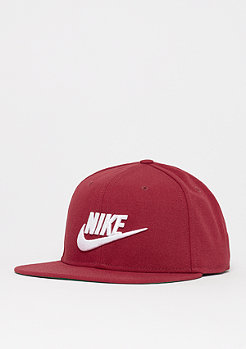 NIKE NSW Pro Cap Futura red crush/pine green/black/white
