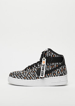 NIKE Air Force 1 High LX black/black-white-total orange