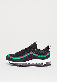 NIKE Air Max 97 black/bright grape-clear emerald-black