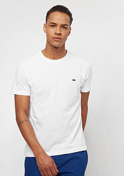 Lacoste Short Sleeved Crew Neck white