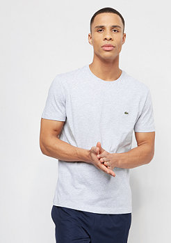 Lacoste Sleeved Crew Neck silver chine