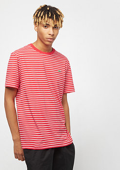 Lacoste Tee-Shirt imperial red/flour