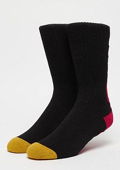 The Hundreds Bar Crew Socks black