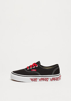 VANS UY Authentic sketch side black/red