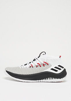 adidas Basketball Lillard 4 white/black/scarlet
