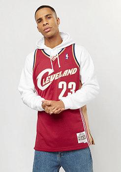Mitchell & Ness NBA Swingman Lebron James #23 Cleveland Cavaliers red/gold