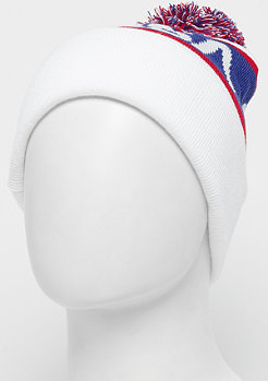 Mister Tee NASA Knitted Beanie white/blue/red