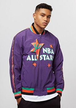 Mitchell & Ness All Star Warm Up 1995 purple