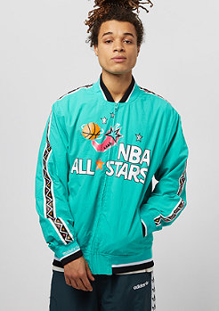Mitchell & Ness Team History Warm Up All Star teal