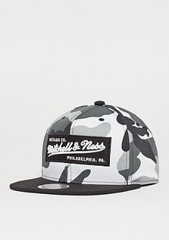 Mitchell & Ness Box Logo urban camo/black