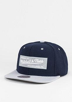 Mitchell & Ness Box Logo navy/grey