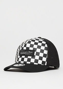 Mitchell & Ness Checkered Trucker 110 white/black