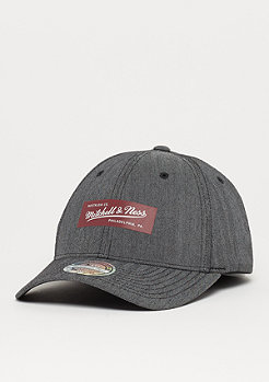 Mitchell & Ness Poly Herringbone 110 charcoal