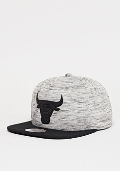 Mitchell & Ness NBA Snapback-Cap Hydropren Chicago Bulls grey/black