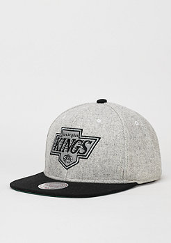 Mitchell & Ness Snapback-Cap Melange Flannel NHL Los Angeles Kings black