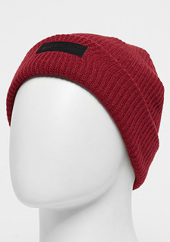 Mitchell & Ness Leather Patch Campus Cuff burgundy/black