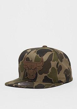 Snapback-Cap Lux NBA Chicago Bulls camo