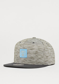 Mitchell & Ness Brushed Melange NBA Denver Nuggets grey/blue