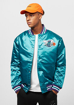Mitchell & Ness NBA Satin Charlotte Hornets teal
