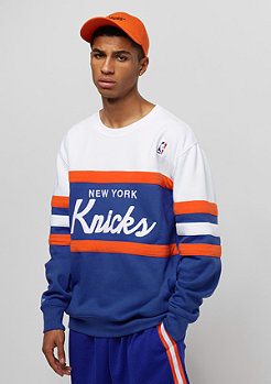 Mitchell & Ness New York Knicks Head Coach royal/white