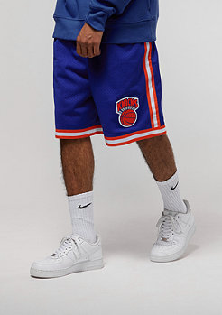 Mitchell & Ness NBA New York Knicks Swingman Shorts royal